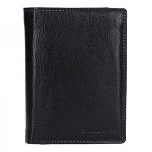 Pánská kožená peněženka SendiDesign Martin – černá