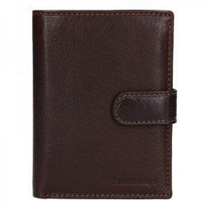 Pánská kožená peněženka SendiDesign Antonio – hnědá