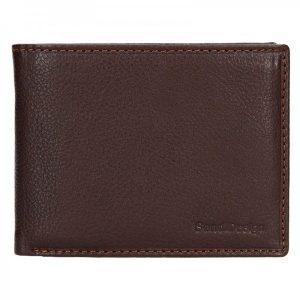 Dámská kožená peněženka SendiDesign Carlos – hnědá