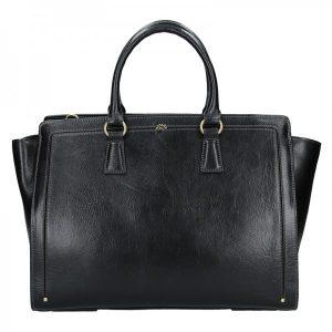 Elegantní dámská kožená kabelka Katana Nicol – černá