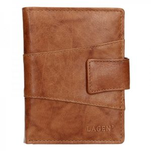 Pánská kožená peněženka Lagen Conor – hnědá