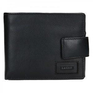 Pánská kožená peněženka Lagen Oli – černá