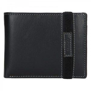 Pánská kožená peněženka Lagen Dylan – černá