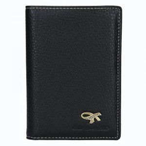 Pánská kožená peněženka Gil Holsters G317444 – černá