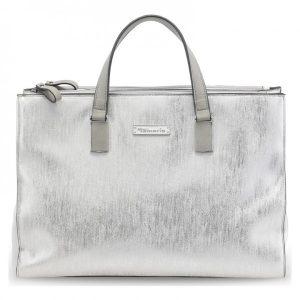 Dámská kabelka Tamaris Nadine Business – stříbrná
