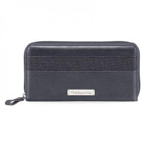 Dámská peněženka Tamaris Khema Big Zip – tmavě modrá
