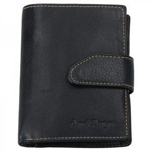 Pánská kožená peněženka SendiDesign Rendl – černá