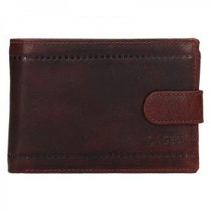 Pánská kožená peněženka Lagen Evron – hnědá