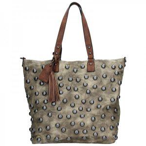 Trendy dámská kabelka Suri Frei Paula – khaki