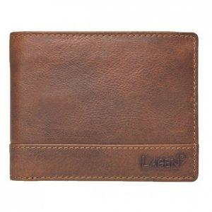 Pánská kožená peněženka Lagen 1998/V – hnědá