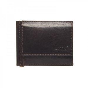 Pánská kožená peněženka Lagen Dolarro – tmavě hnědá