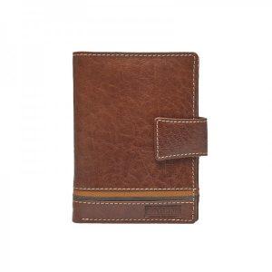 Pánská kožená peněženka Lagen Agustus – hnědá