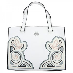 Dámská kabelka Marina Galanti Monic – bílá