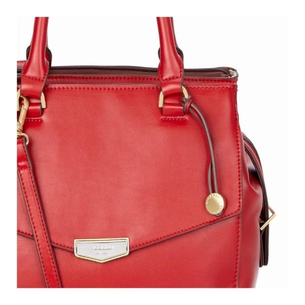 67240108ea Elegantní dámská kabelka Fiorelli MIA – červená