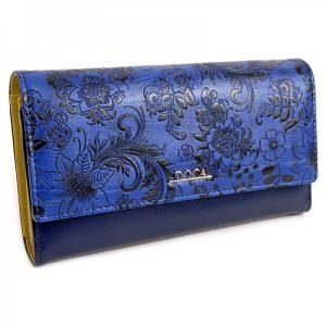 Dámská peněženka Doca 64981 – modrá