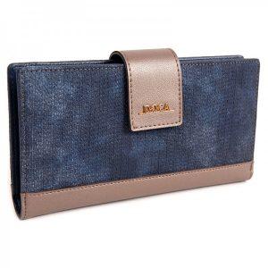 Dámská peněženka Doca 64971 – modrá