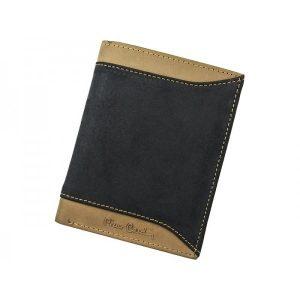 Pánská kožená peněženka Pierre Cardin Eric – černo-hnědá