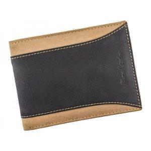 Pánská kožená peněženka Pierre Cardin Dan – černo-hnědá