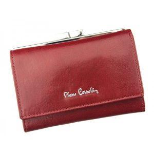 Dámská kožená peněženka Pierre Cardin Emma – vínová