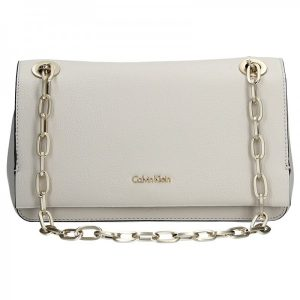 Dámská crossbody kabelka Calvin Klein Convertible Shoulder Bag – krémová
