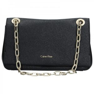 Dámská crossbody kabelka Calvin Klein Convertible Shoulder Bag – černá