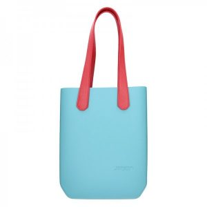 Dámská trendy kabelka Ju'sto J-High – tyrkysovo-červená