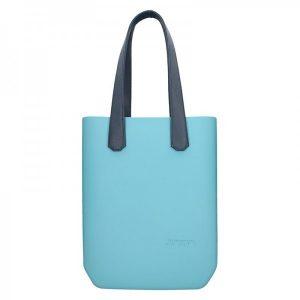 Dámská trendy kabelka Ju'sto J-High – tyrkysovo-modrá