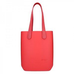 Dámská trendy kabelka Ju'sto J-High – červená
