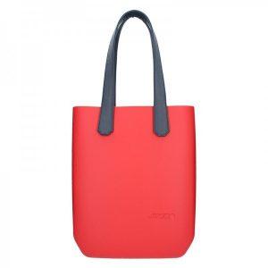 Dámská trendy kabelka Ju'sto J-High – červeno-modrá