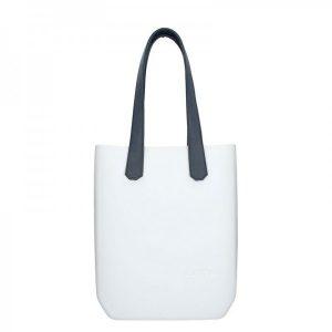 Dámská trendy kabelka Ju'sto J-High – bílo-modrá