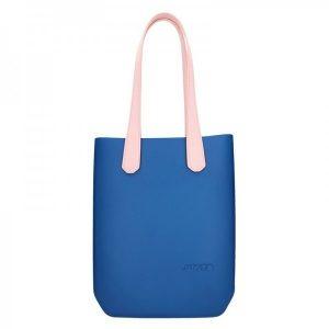Dámská trendy kabelka Ju'sto J-High – modro-růžová