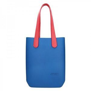 Dámská trendy kabelka Ju'sto J-High – modro-červená