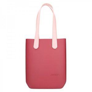 Dámská trendy kabelka Ju'sto J-High – vínovo-růžová