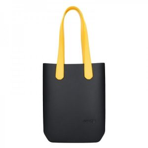 Dámská trendy kabelka Ju'sto J-High – černo-žlutá