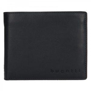 Pánská kožená peněženka Bugatti Nilsen – černá
