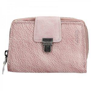 Dámská kožená peněženka Lagen Lea – fialová