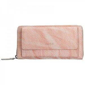 Dámská kožená peněženka Lagen Maria – lososová