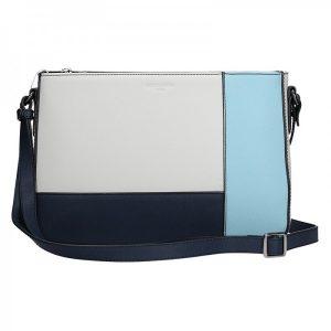 Dámská kabelka Hexagona 505238 – modro-bílá