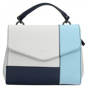 Dámská kabelka Hexagona 505237 – modro-bílá