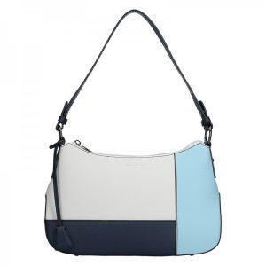 Dámská kabelka Hexagona 505236 – modro-bílá