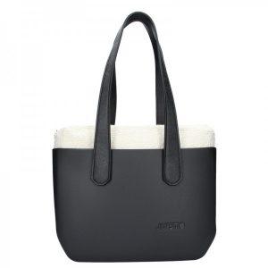 Dámská trendy kabelka Ju'sto J-Wide Andrea – černá