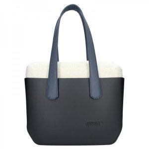Dámská trendy kabelka Ju'sto J-Wide Andrea – černo-modrá