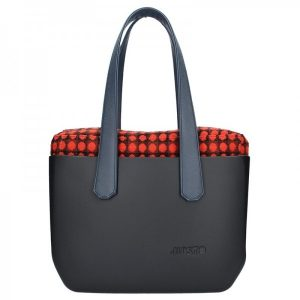 Dámská trendy kabelka Ju'sto J-Wide Lucy – černo-modrá