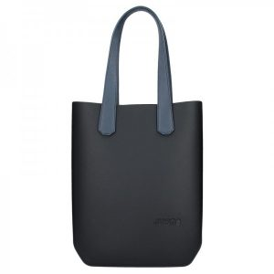 Dámská trendy kabelka Ju'sto J-High – černo-modrá