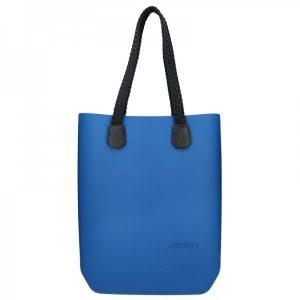 Dámská trendy kabelka Ju'sto J-High Nil – modro-černá