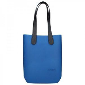 Dámská trendy kabelka Ju'sto J-High – modro-černá