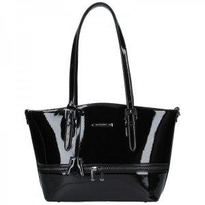 Dámská kabelka Hexagona 815178 – černá
