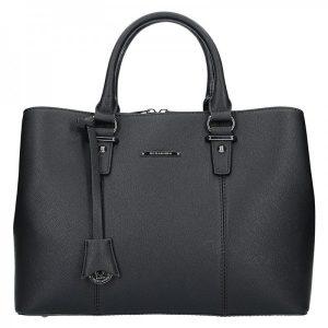 Dámská kabelka Hexagona 645152 – černá