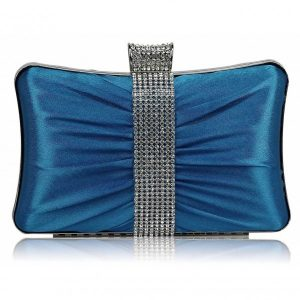 Dámské psaníčko LS Fashion Melissa – modrá