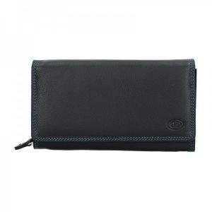Dámská kožená peněženka DD Anekta Simona – černá